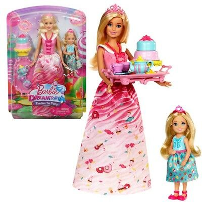 Barbie - Dreamtopia Doll Sweetville Princess and Chelsea Tee Time Playset