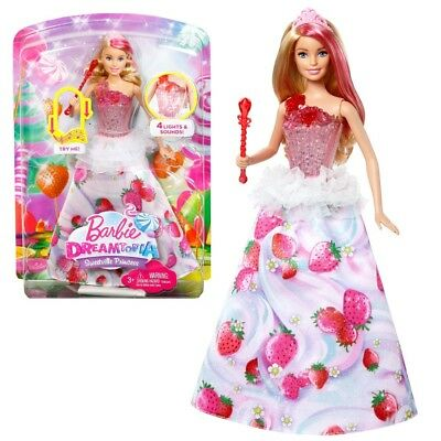 Barbie - Dreamtopia Doll Sweetville Light and Music Princess