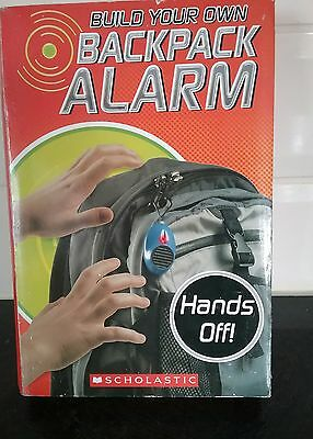 BACKPACK ALARM Electronic Anti Theft Device Kit Complete with instructions