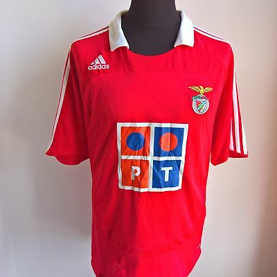 Benfica 2007 Home Football Shirt Adidas Jersey Size Adult L