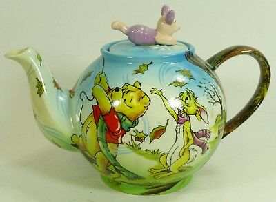 Cardew Collectibles Poohs Blustery Day Disney Showcase Novelty Teapot