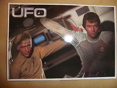 GERRY ANDERSON UFO DVD POSTCARD  vol 2 no 5  ED BISHOP MICHAEL BILLINGTON NEW
