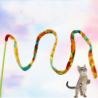 Cat Dancer Cat Charmer Wand Teaser Toy, Multicolor Play Animal Free Shipping Hot