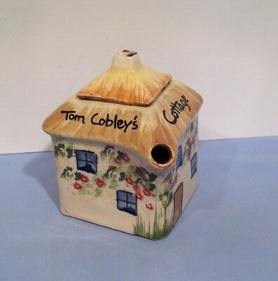 Torquay Devon Ware Pottery Cottage Teapot Uncle Tom Cobley's Widdecombe