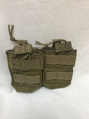 Eagle Industries Coyote Double Double Carbine Bungee Top Mag Pouch FSBE LE Duty