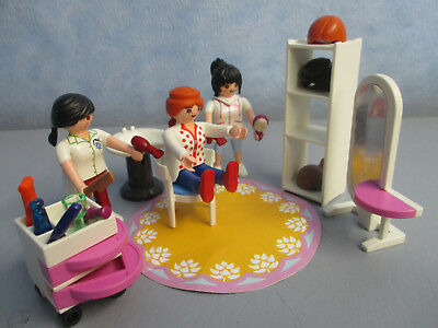 Beauty Salon Frisör Figuren figures City Life  Playmobil 2210 B