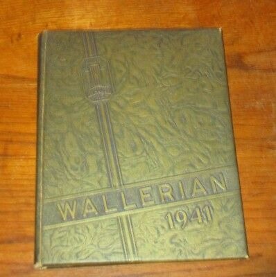 Wallerian - Waller High School Yearbook 1941 - Chicago Illinois