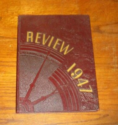 The Marshall Review - John Marshall High School Yearbook 1947 - Chicago Illinois