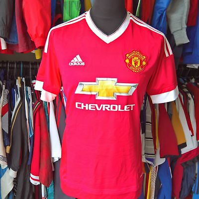 5f075dd80e3 ORIGINAL VINTAGE MANCHESTER United Home Football Shirt 1984 Adidas ...