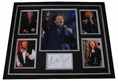 Mick Hucknall SIGNED Framed Photo Autograph Huge display Simply Red Music COA