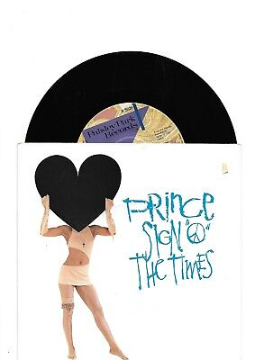 Prince Sign Of The Times Rare Original Single From Australia
