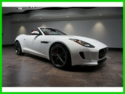 2014 Jaguar F-Type S 2014 S Used Certified 3L V6 24V Automatic RWD Convertible Premium