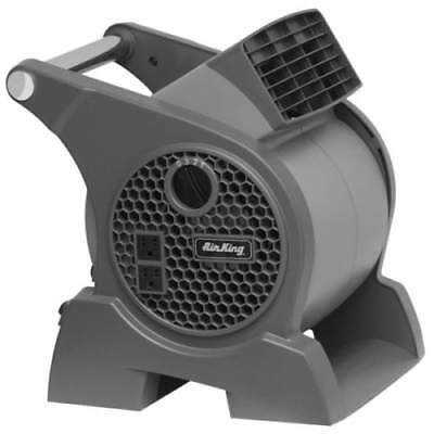 "Air King 9555 7"" x 7"" 350 CFM 3-Speed Commercial Grade Pivoting Blowers"