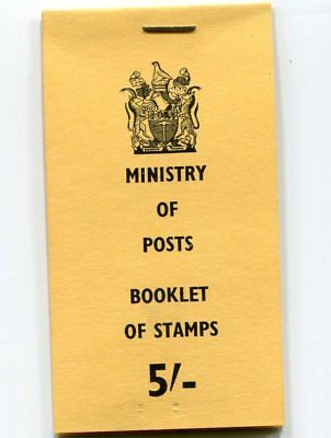 Rhodesia.1968 S88 5/- Booklet With Stamps.cat £18++