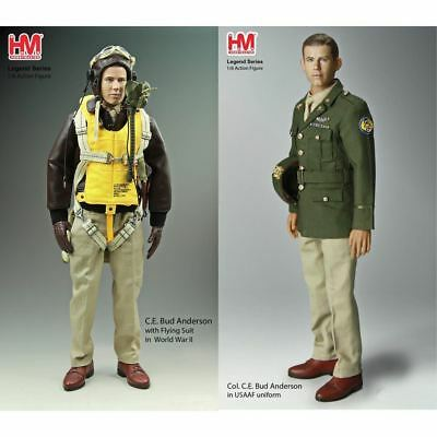 Hobby Master 1/6 Figure HF0001 Col Bud Anderson American Pilot WWII Signed Edtn