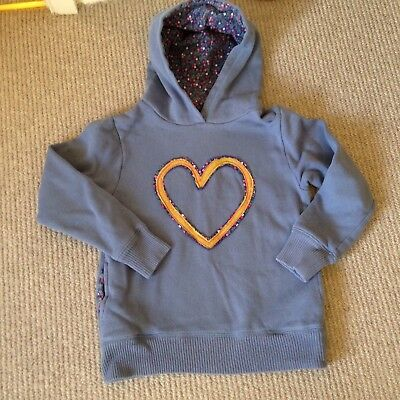 Mini Boden Girls Hoodie Age 7-8 Yrs