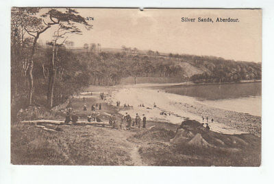 Silver Sands Aberdour Fife Lots Of People 6 Sep 1926 Boyd Carsethorn Kirkbean