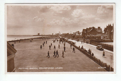 Putting Green Promenade Leven Fife 1933 Real Photograph Brown Humberstone Road