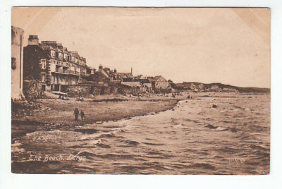 The Beach Largo Fife 1912 Valentines 72656 Old Postcard Unposted Message On Back