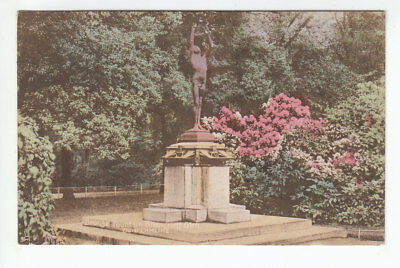 Bronze Fountain Pittencrieff Glen Dunfermline Fife 1906 Tuck's 864 Carte Postale