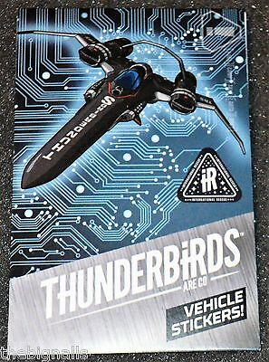 THUNDERBIRDS Vehicle Stickers new