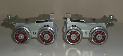 Lot Of 2 Lionel Mth Williams 381E Standard Gauge Pilot Trucks Assembly Complete