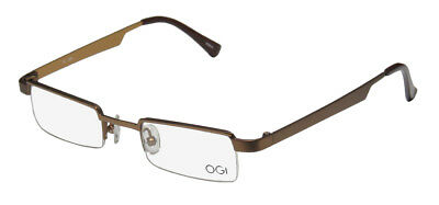 bdaf890e26 New Ogi 2204A Classic Shape Brand Name Affordable Eyeglass Frame glasses  eyewear