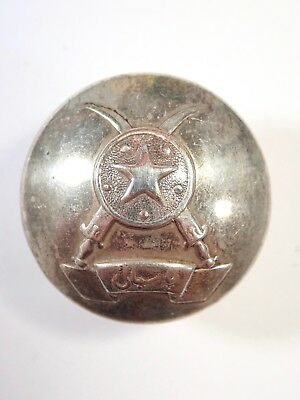 India: Unknown original Officers Large Button.