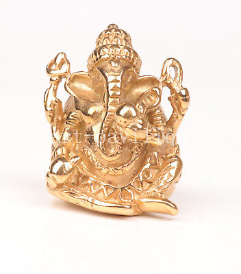 Brass Ring Indian Geneisha Holy Magic Art Crafts Gift God Collection