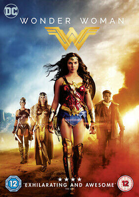 Wonder Woman DVD (2017) Gal Gadot, Jenkins (DIR) cert 12 FREE Shipping, Save £s