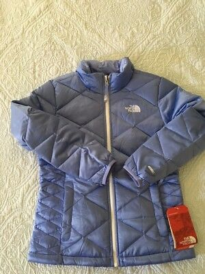 The North Face Girl Aconcagua 505 Dow Jacket Dynasty Blue  Girls Sz  M 10/12 New