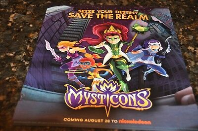 Sdcc Comic Con 2017 Mysticons Seize Your Destiny Save The Realm Small Poster