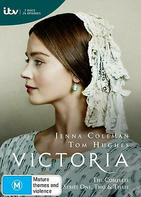 VICTORIA 1+2 (2016-2017): British Queen Drama TV Season Series R2 DVD not US