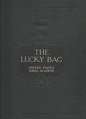*☆* United States Naval Academy Lucky Bag Book Year Log 1924  *☆*
