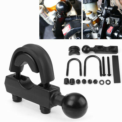 "Universal Motorcycle Bike Brake Clutch Handlebar Mount with 1"" Ball Kit"