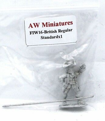 Pack of 6 AW Miniatures FIW63 British Casualties Dead Soldiers Infantry Troops