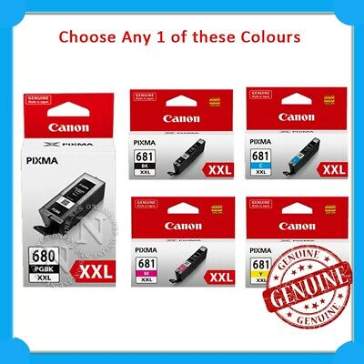 CANON PGI-680XL AND CLI-681 Ink Cartridge Value Pack