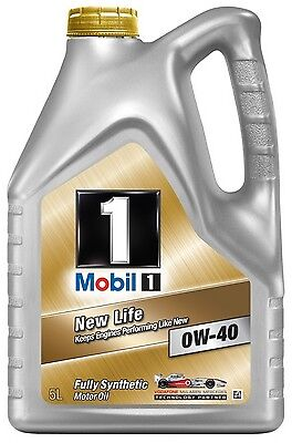Mobil 1 0W40 - 5L Fully Synthetic Car Vehicle Motor Engine Olil