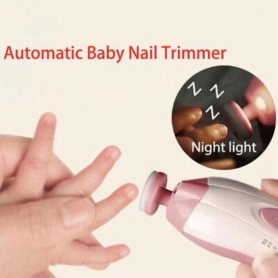 Kids Baby Electronic Safe Efficient Gentle Manicure Nail Tools Baby Hands Supply