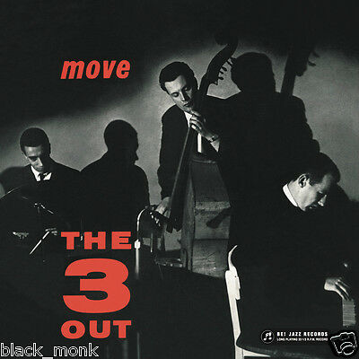 Mike Nock Trio / The Three Out – Move - Be Jazz Lp Ltd Ed. New & Sealed