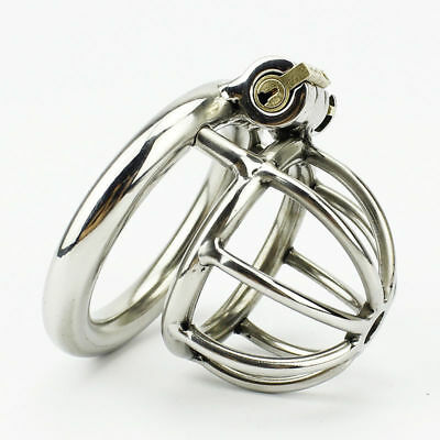 Super Small Male Chastity Stainless Steel Devices Fetish Bondage Metal Chastity