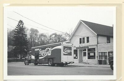 # 2868 Rppc By Kowalak Coca Cola Truck In Front Of General Store Wading River Ny