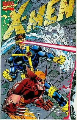X-Men (2nd series) # 1 (gatefold cover, Jim Lee) (USA, 1991)