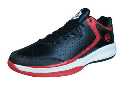 buy online 41577 10aac adidas D Rose Englewood III Mens Basketball Trainers Low-Top Shoes Black