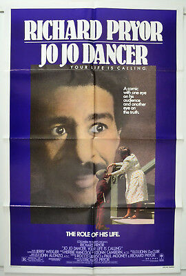 JO JO DANCER - YOUR LIFE IS CALLING (1986) 1-Sheet Movie Poster - Richard Pryor