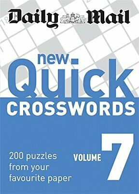 Daily Mail: New Quick Crosswords 7 (The Daily Mail Puzzle Books) Paperback Book