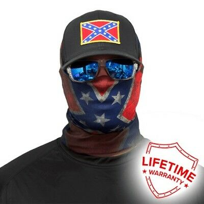 MOTORCYCLE FACE MASK - REBEL - (Moto, Fishing, Hunting, Paintball)