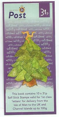Isle Of Man 2006 £3.10 Christmas Self-Adhesive Booklet Sb65