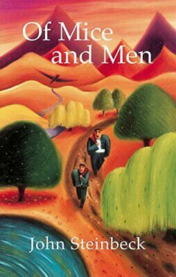 Of Mice and Men by John Steinbeck Hardback Book The Fast Free Shipping
