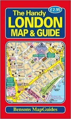 London Map Guide.The Handy London Map And Guide By Bensons Mapguides Paperback Book The Fast Free